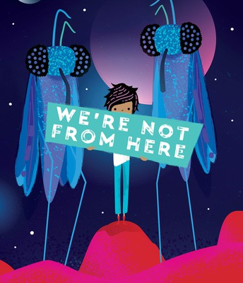 *We're Not From Here, by Geoff Rodkey