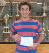 Jacob Ciolfi becomes National Merit Finalist!