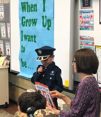 KINDERGARTEN CAREER DAY