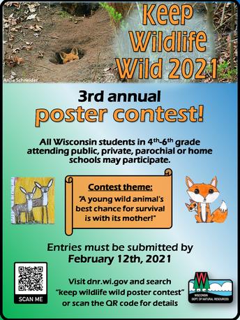 Keep Wildlife Wild Poster Contest!