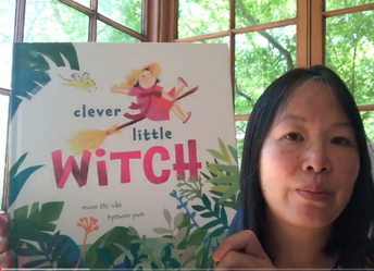Muon Thi Van reads aloud Clever Little Witch