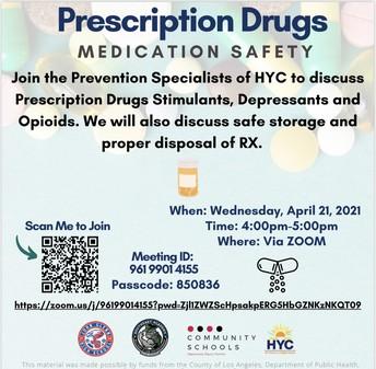 Prescription Drugs Medication Safety
