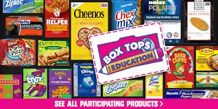 BoxTops/Hyvee Receipts/Pop Tabs