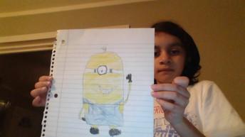 Wilfredo O., Grade 4