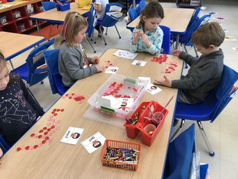 WRITING WORD WALL WORDS WITH VALENTINES!