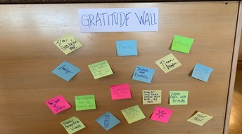 Gratitude Wall Challenge - Continued!