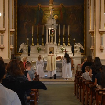 Thank You Fr. Arechabala for Saying a Wonderful First Friday Mass!