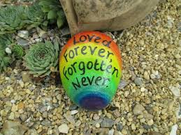Paint a rock for Ethan