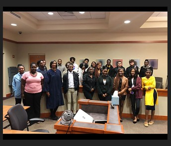 Central's Legal Environment of Business (LEB) Students Visit The Dekalb County Courthouse