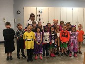 Costumer Day at the Primary