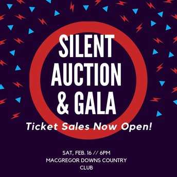 Silent Auction and Gala Ticket Sales NOW OPEN!