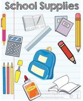 2021/2022 School Supply List