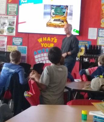 Mr. Pache's Coding Presentation