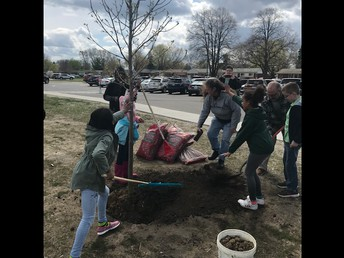 Thanks to everyone who made Arbor Day happen here at Randolph!