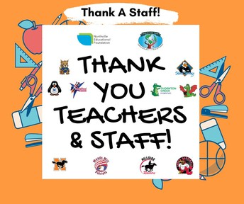 Did you miss Teacher Appreciation Week? There is still time to show your favorite teacher or staff member how much you appreciate them!