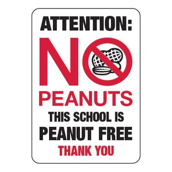 We are Nut-Free this year!