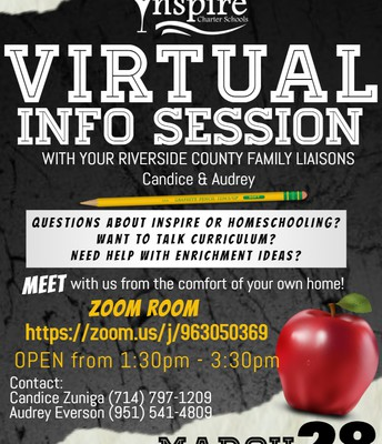 Virtual Info Session with Candice & Audrey