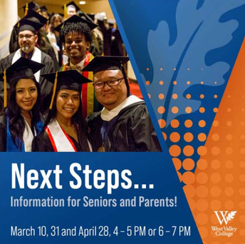 Next Steps: Information for Seniors and Parents