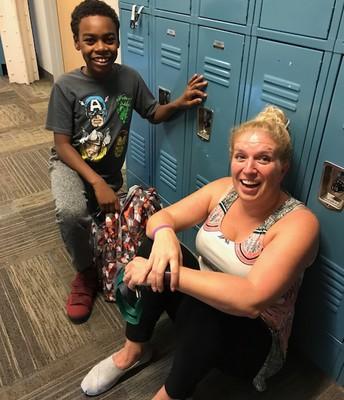 Fun in the hallway!