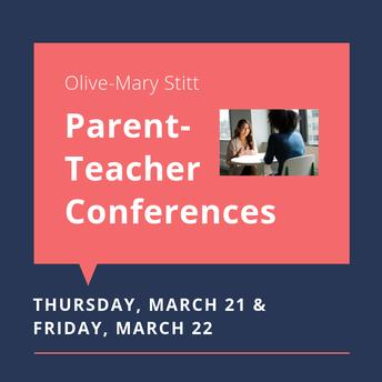 Parent-Teacher Conferences Spring 2019