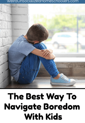 The Best Way to Navigate Boredom With Kids