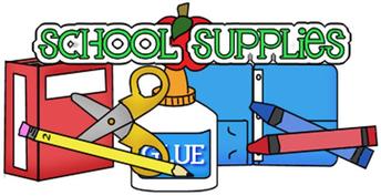 2018-19 School Supply List