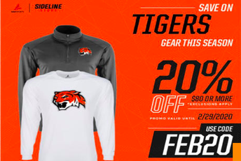 Tiger Gear Now On Sale!