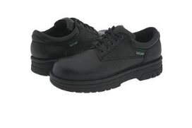 Black Leather Eastland Shoe