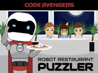 Robo-restaurant Puzzler