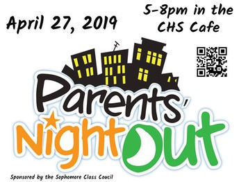 CHS Night Out for Parents on April 27th