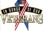 Our Annual Veteran's Day Breakfast is Monday!