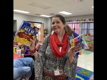Mrs. Gibson, Prize Winner!