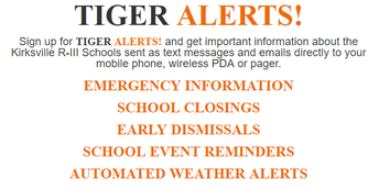Tiger Alerts! Textcaster