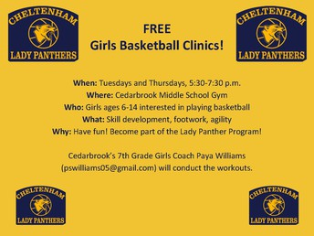 Girls BB Clinic (Ages 6-14)