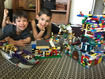 Nate (1st Grade)  and Caedmon (Kinder) - Battle of the Three Armies