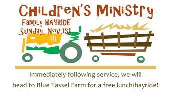 Children's Ministries Family Hayride