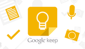 Google Keep on the Go