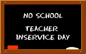 NO School Friday, 10/9