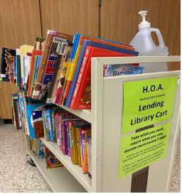 HOA - LENDING LIBRARY CART