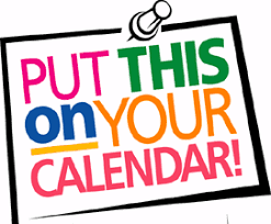 8th grade PGHS Registration and Save the Dates