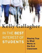 ELAR Distinguished Speaker Series: Kelly Gallagher (Grades 6-12)