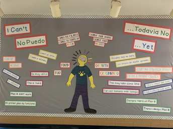 One of our AMAZING Bulletin Boards