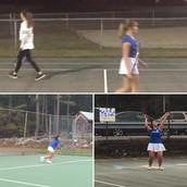 Senior Night Girls Tennis