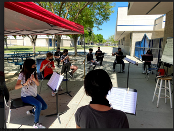 Pioneer Middle School Band Prepares for Future Concerts