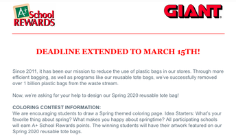 GIANT: Spring Coloring Contest Details