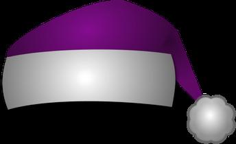 Purple Santa