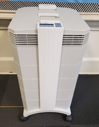 Air Purifiers Installed Throughout SVDP