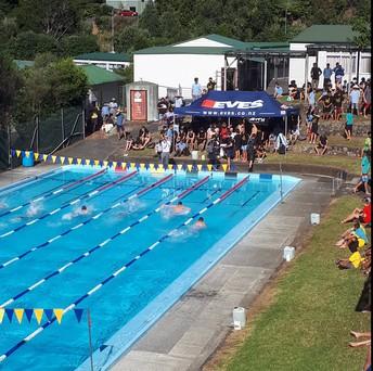 Annual swimming sports.