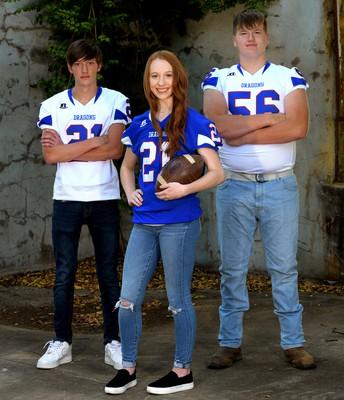 Maggie Burrough, Logan Anderson, Zach Jones