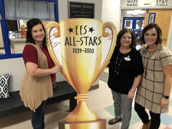 All Star Team of the Week: 1st Grade Intervention Team